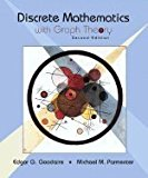 Book Cover Discrete Mathematics With Graph Theory, 2ND EDITION