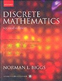 Book Cover Discrete Mathematics (text only) 2nd(Second) edition by N. L. Biggs