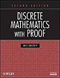 Book Cover Discrete Mathematics With Proof 2ND EDITION
