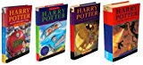 Book Cover Harry Potter and the Philosopher's Stone , Harry Potter and the Chamber Of Secrets , Harry Potter and the Prisoner Of Azkaban , Harry Potter and the Goblet Of Fire , Four Volume Slipcase