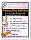 Book Cover Commercial Loan Modification