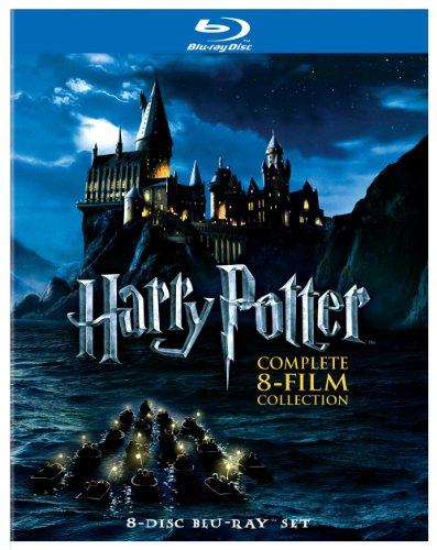 Book Cover Harry Potter: Complete 8-Film Collection [Blu-ray]