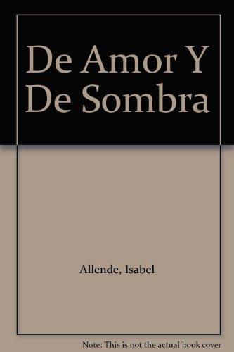 Book Cover De Amor Y De Sombra
