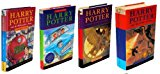 Book Cover Hary Potter Boxed Set Collector's Edition (Four Volumes, Harry Potter and the Philosopher's Stone, Harry Potter and the Chamber of Secrets, Harry Potter and the Prisoner of Azkaban and Harry Potter and the Goblet of Fire)