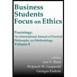 Book Cover Business Students Focus on Ethics (00) by Ryan, CSV, Leo V [Hardcover (2000)]
