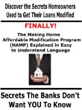 Book Cover Discover the Secrets Homeowners Used to Get Loan Modifications