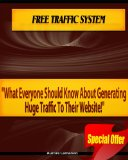 Book Cover Free traffic system