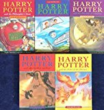 Book Cover HARRY POTTER SET (including HARRY POTTER & THE PHILOSOPHER'S STONE, HARRY POTTER & THE CHAMBER OF SECRETS, HARRY POTTER & THE PRINCE OF AZKABAN, HARRY POTTER & THE GOBLET OF FIRE & HARRY POTTER AND THE ORDER OF PHOENIX)