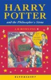 Book Cover Harry Potter and the Philosopher's Stone 1st (first) Edition by J.K. Rowling published by Bloomsbury (2001) Paperback