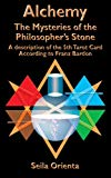 Book Cover Alchemy - The Mysteries of the  Philosopher's Stone: Revelation of the 5th Tarot Card  According to Franz Bardon