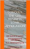 Book Cover CONQUER THE SBA BUSINESS LOAN APPLICATION