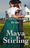 Book Cover Devlin's Montana Bride (Sweet, clean Western Historical Romance)(Montana Ranchers and Brides series Book 2) (Montana Ranchers Brides)