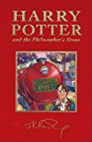Book Cover By J.K. Rowling Harry Potter and the Philosopher's Stone, Deluxe British Edition (1st First Edition) [Hardcover]