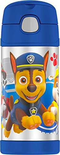 Book Cover Thermos Funtainer 12 Ounce Bottle, Paw Patrol