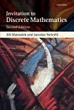 Book Cover An Invitation to Discrete Mathematics 2nd edition by Matousek, Jiri, Nesetril, Jaroslav (2008) Paperback