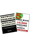 Book Cover AFFILIATE KEYWORD RESEARCH + FREE TRAFFIC GETTING METHODS