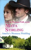 Book Cover Amelia's Montana Wedding (Love In Montana Falls series Book 1)(Sweet Historical Western Romance)