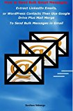 Book Cover How to Send Bulk Gmail Messages: Extract LinkedIn Emails Then Use Google Drive To Send Bulk Gmail Messages
