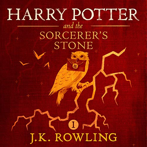 Book Cover Harry Potter and the Sorcerer's Stone, Book 1