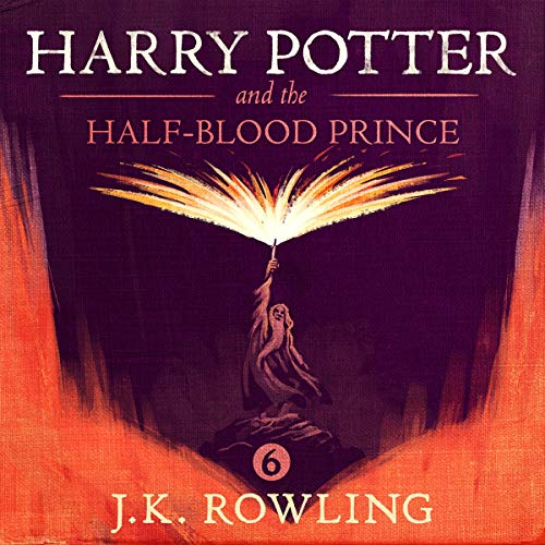 Book Cover Harry Potter and the Half-Blood Prince, Book 6