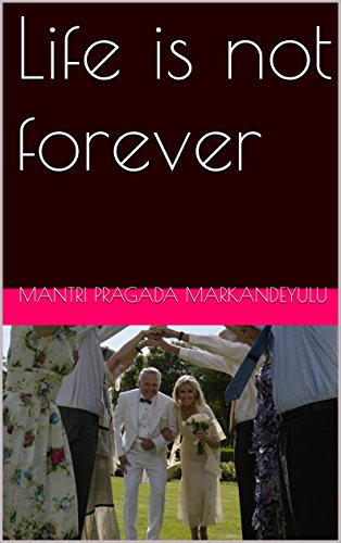 Book Cover Life is not forever