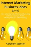 Book Cover Internet Marketing Business Ideas (2016): How to Get Started with Internet Marketing via These 2 Business Model... Flipping Website & Affiliate Selling