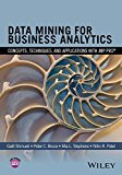 Book Cover Data Mining for Business Analytics: Concepts, Techniques, and Applications with JMP Pro