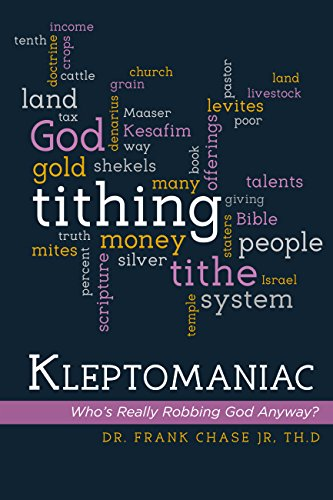 Book Cover Kleptomaniac: Who's Really Robbing God Anyway?