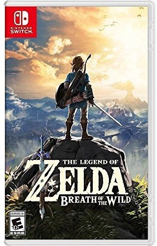 Book Cover The Legend of Zelda: Breath of the Wild - Nintendo Switch