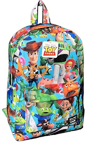 Book Cover Toy Story Characters Print Backpack by Loungefly