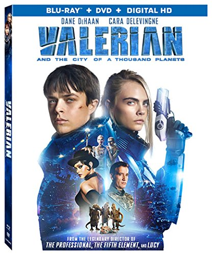 Book Cover Valerian and the City of A Thousand Planets [DVD + Bluray] [Blu-ray]