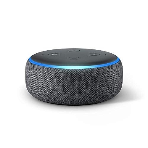 Book Cover Echo Dot (3rd Gen) - New and improved smart speaker with Alexa - Charcoal