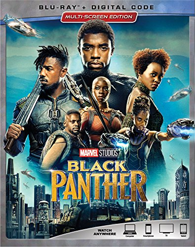 Book Cover BLACK PANTHER [Blu-ray]