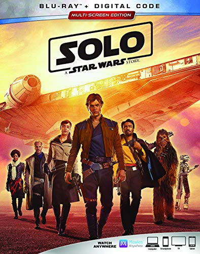 Book Cover SOLO: A STAR WARS STORY [Blu-ray]