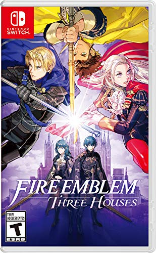Book Cover Fire Emblem: Three Houses - Nintendo Switch
