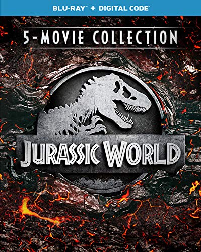 Book Cover Jurassic World: 5-Movie Collection [Blu-ray]
