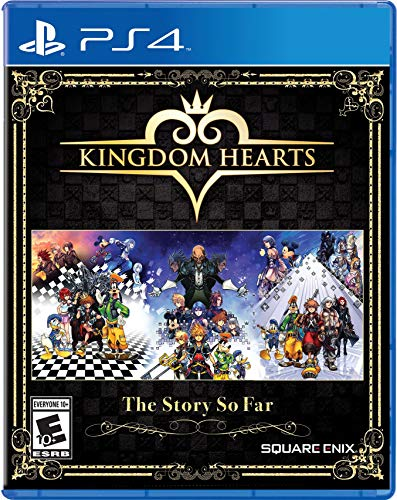 Book Cover Kingdom Hearts The Story So Far - PlayStation 4