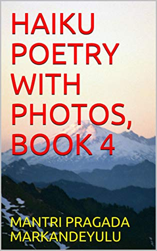 HAIKU POETRY WITH PHOTOS, BOOK 4