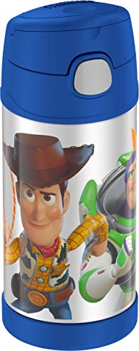 Book Cover Thermos F4019TS6 Funtainer 12 Ounce Bottle, Toys Story 4