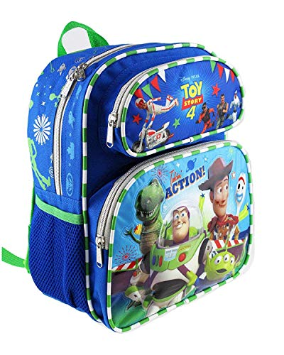 Book Cover Disney Toy Story 4 Kids Backpack 12