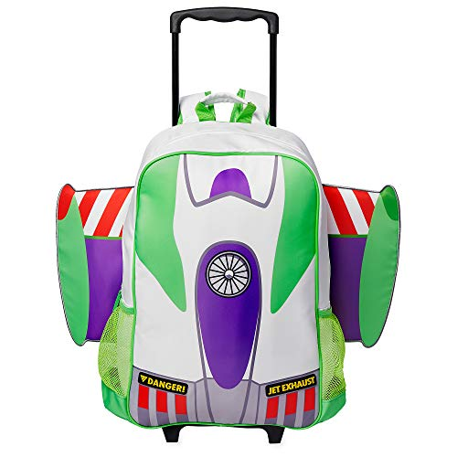 Book Cover Disney Buzz Lightyear Rolling Backpack